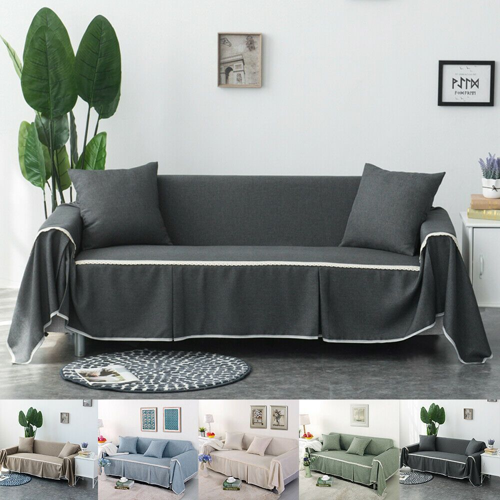 Au Ship Stretch Sofa Seater Protector Washable Couch Cover Slipcover Decor Chair Covers Couch Covers Slipcovers Chair Covers Couch Covers