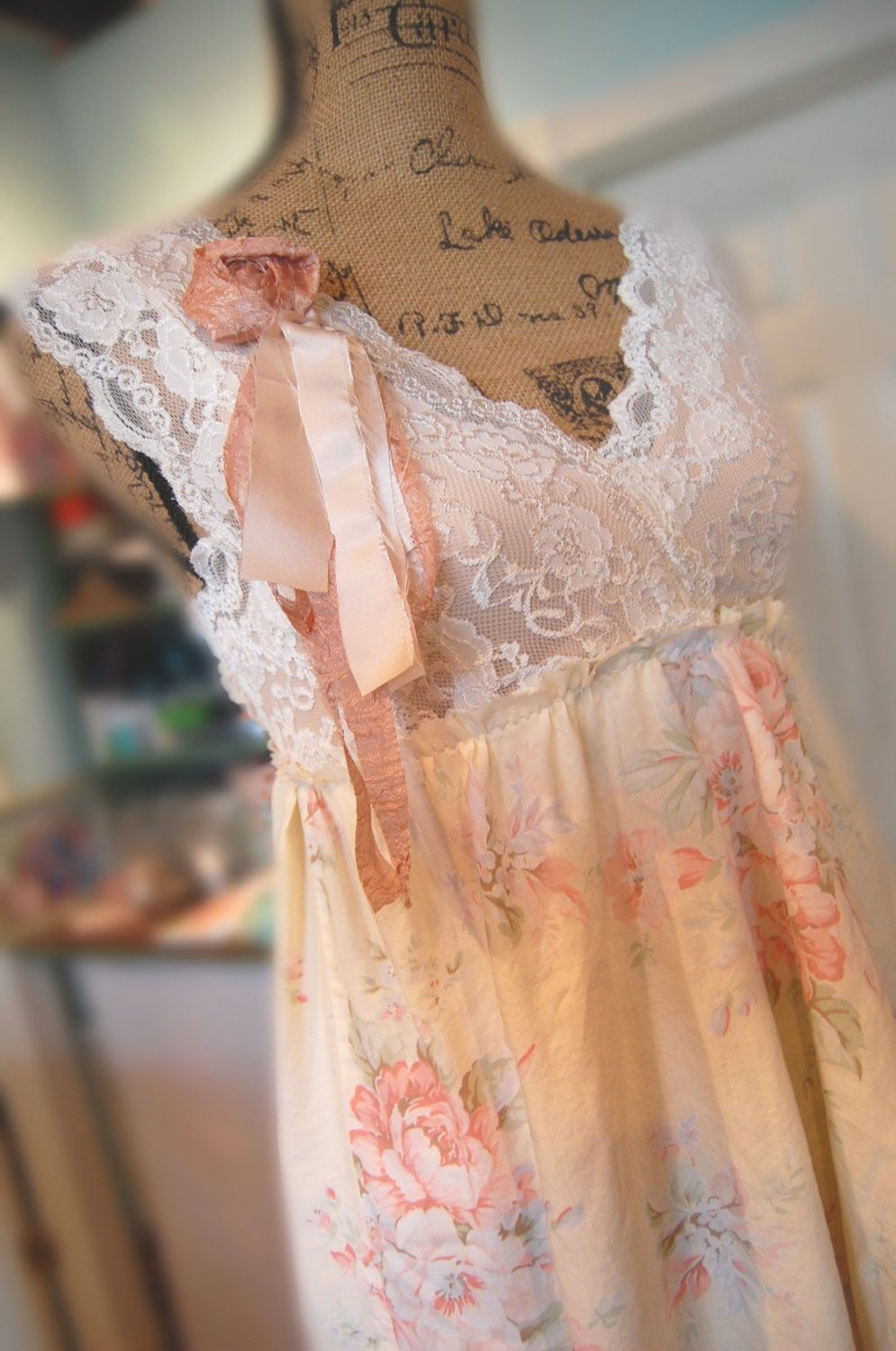 Camisole Dress Womens Clothing Shabby Chic by