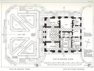 Petit Trianon Castle Floor Plan Floor Plans Mansion Floor Plan