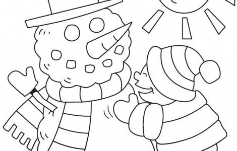 winter coloring pages print winter pictures to color  coloring pages printable coloring pages