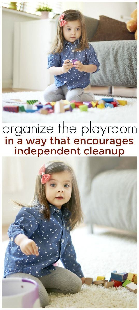 Easy Ways To Organize Your Toddleru0027s Playroom In A Way That Encourages  Independent Clean Up | Playrooms, Organizing And Playroom Organization