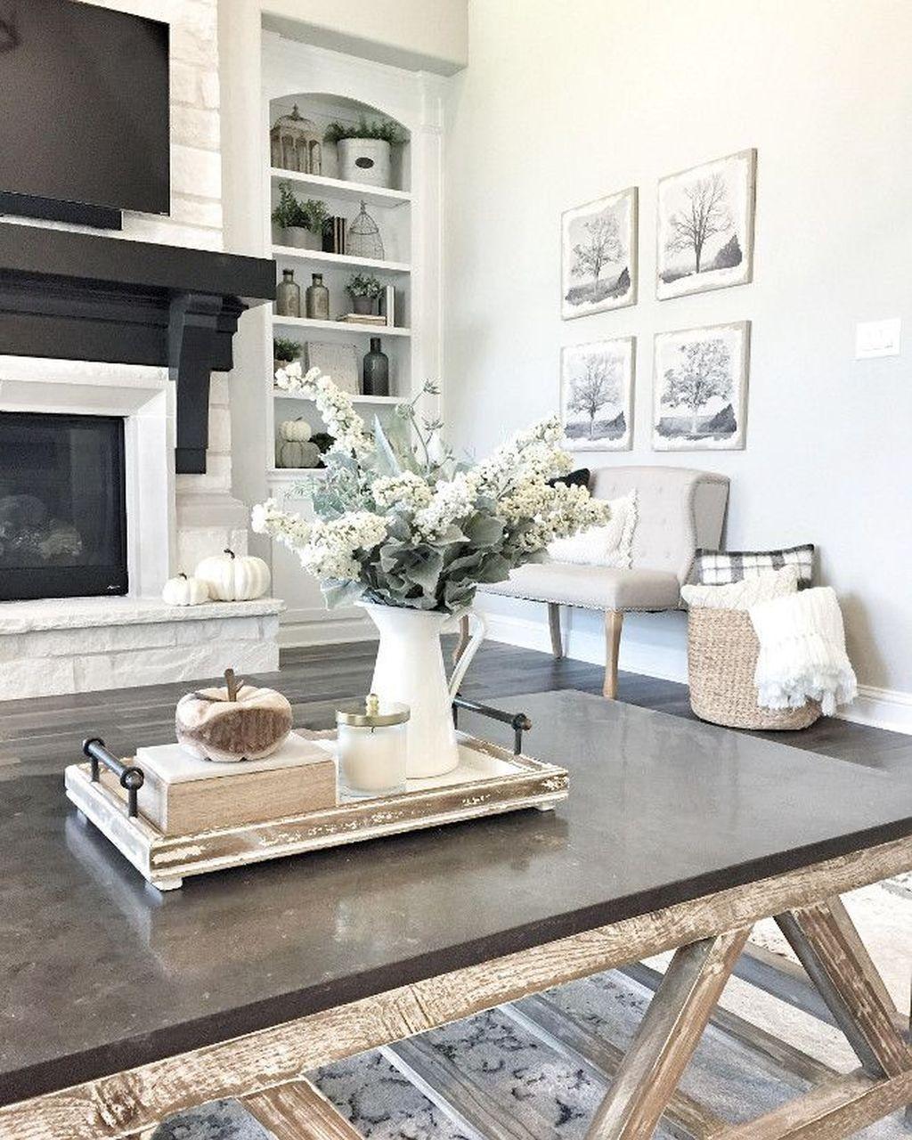 48 Gorgeous Coffee Table Design Ideas - HOMYHOMEE ...
