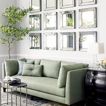 wall decor living room modern