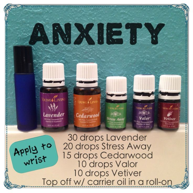 Image Result For Essential Oil Anxiety Young Living Essential Oils
