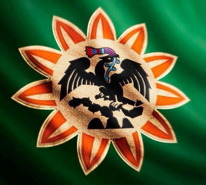 La Bandera Original De Los Azteca Escudo Nacional De Mexico Arte Maya Aguila De La Bandera Mexicana