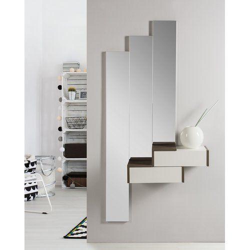 Ebern Designs Minnesota Dressing Table With Mirror Wayfair Co Uk