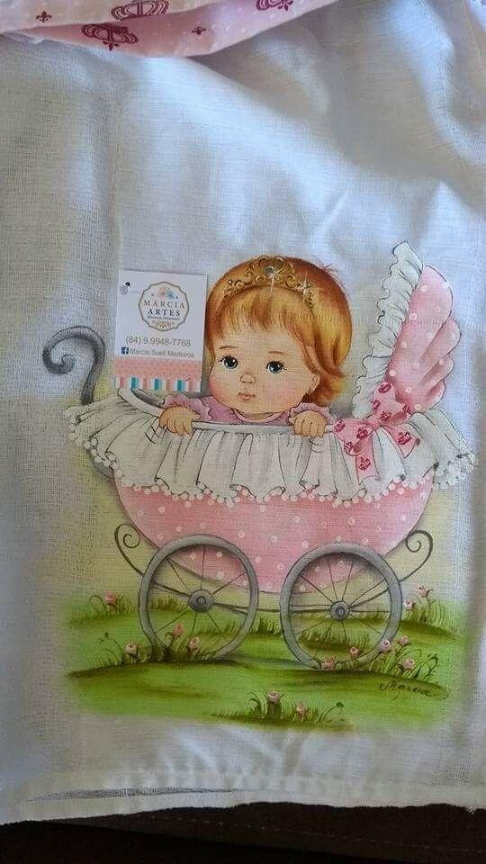 Pin de dolores marco en camisetas pinterest pintura de beb pintura en tela y pinturas - Telas para colchas infantiles ...