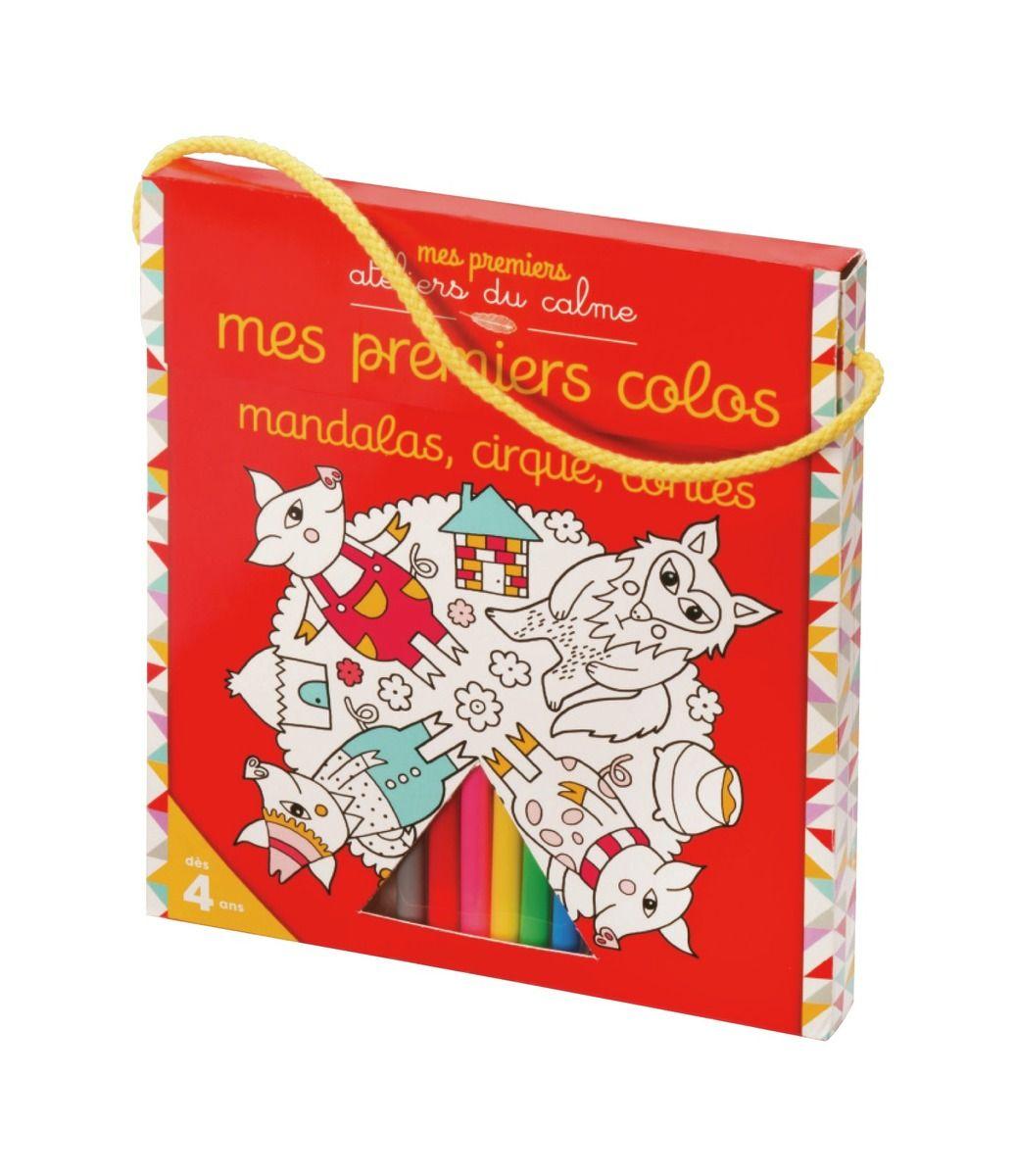 Mes premiers Colos Mandalas Cirque Contes 3 cahiers de plus de 20