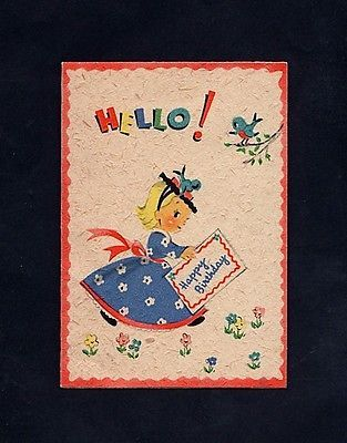 Small Birthday Card Gx 31 Ebay Miscellaneous Pinterest