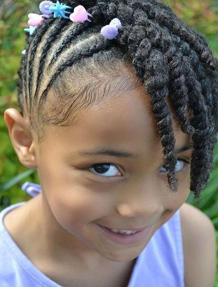 14+ A lot of little braids ideas