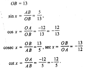 for Class 11 Maths Chapter 3 Trigonometric Functions