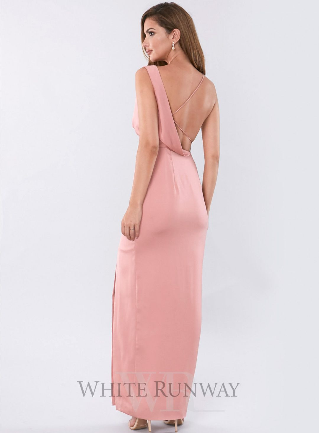 Sidelines gown a gorgeous full length dress by keepsake the label