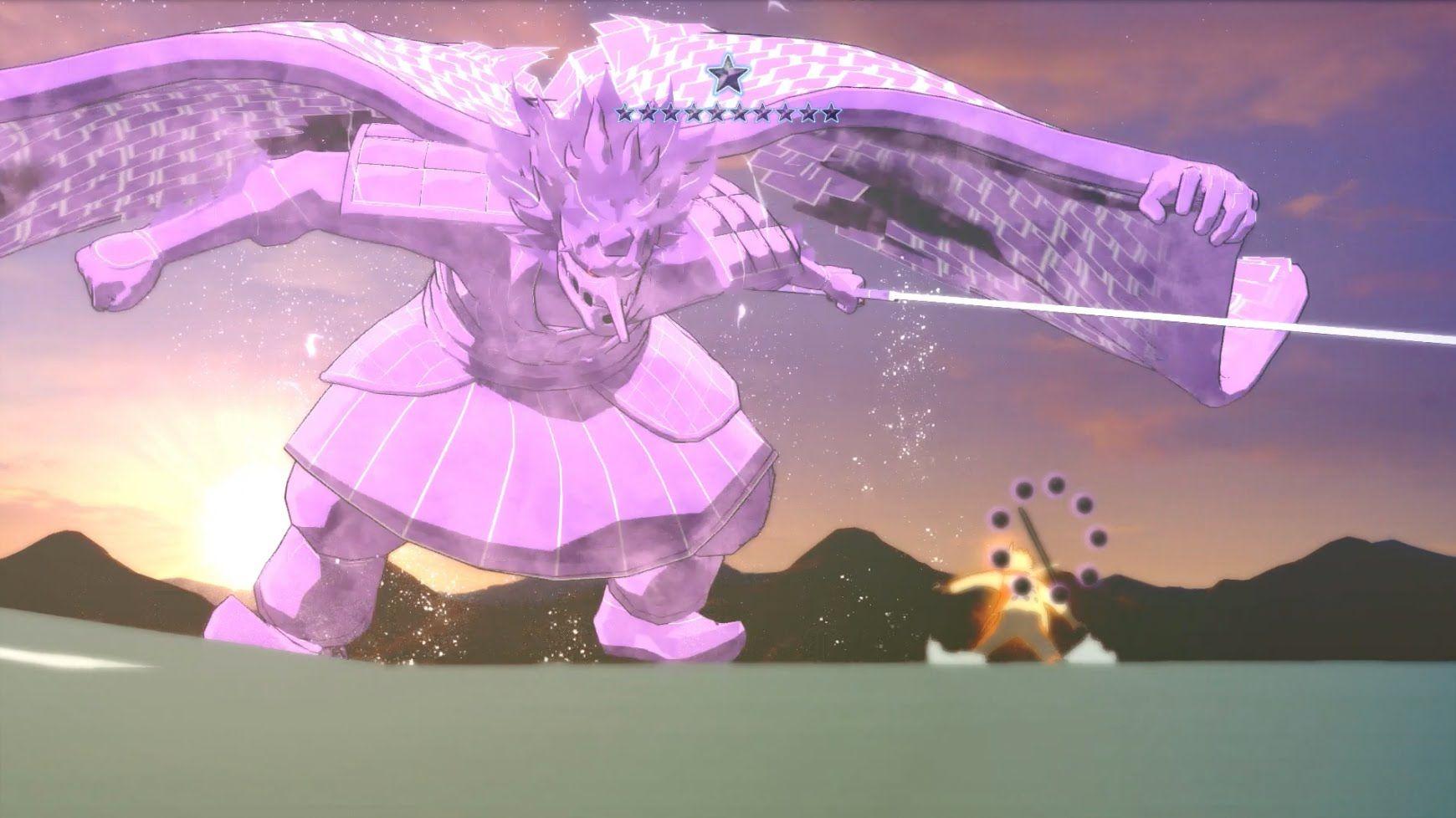 Rikudou Naruto Vs. Sasuke Uchiha (Perfect Susanoo) Final
