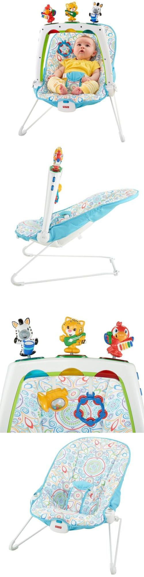 53cdc55f0 Baby Jumping Exercisers 117032  Fisher-Price Musical Friends Bouncer ...
