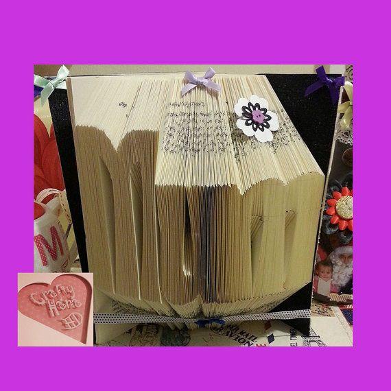 Mum Book Folding PATTERN Measure Mark and Fold