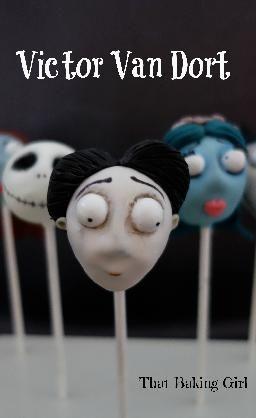 Corpse Bride Cake Pops!