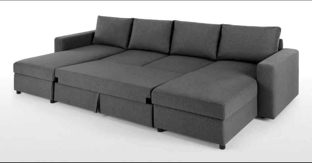 Magnificent Edmond Platform Horseshoe Marl Grey Living Room Ideas In Ibusinesslaw Wood Chair Design Ideas Ibusinesslaworg