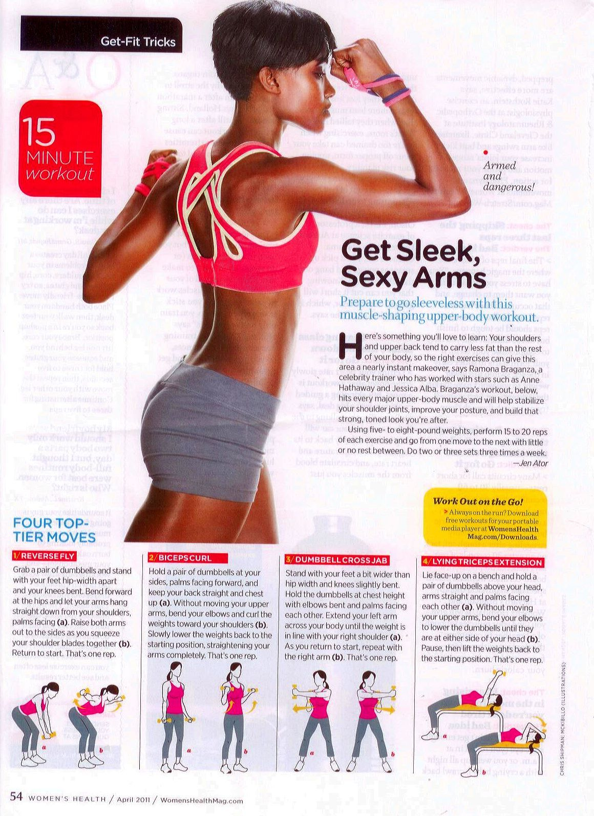 pics Arm Exercises for Women: Get Sleek, Sexy Arms
