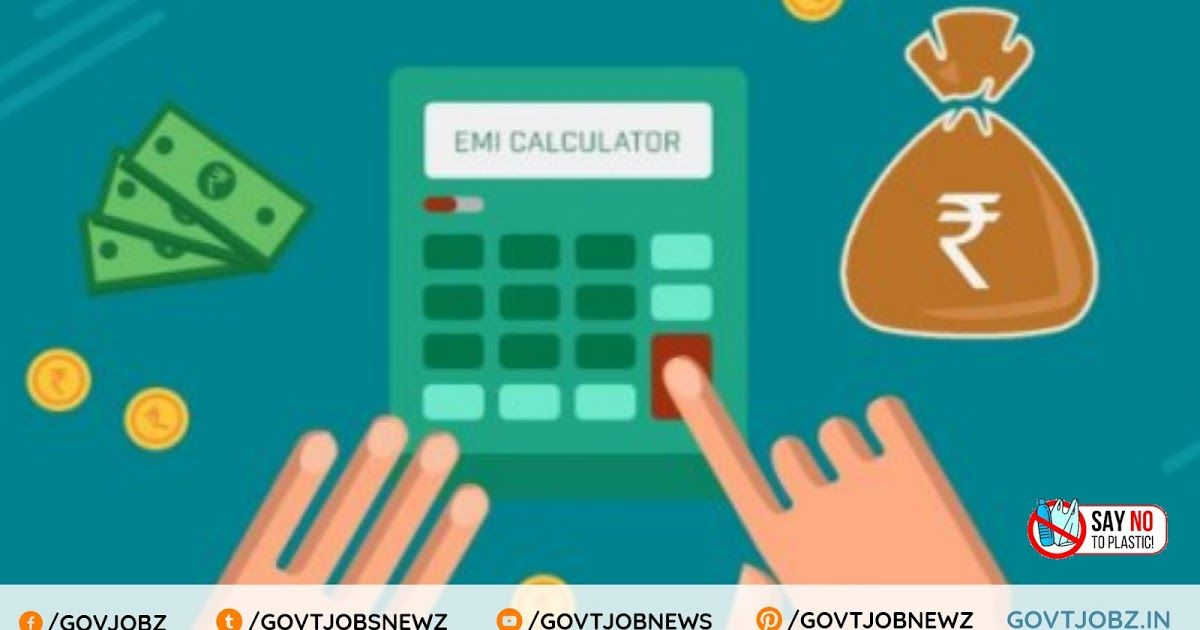 Emi Calculator Sbi Home Loan Emi Calculator Hdfc Personal Loan Emi Calculator Emi Calculator In Excel Car Personal Budget Budget Planner Printable Finance
