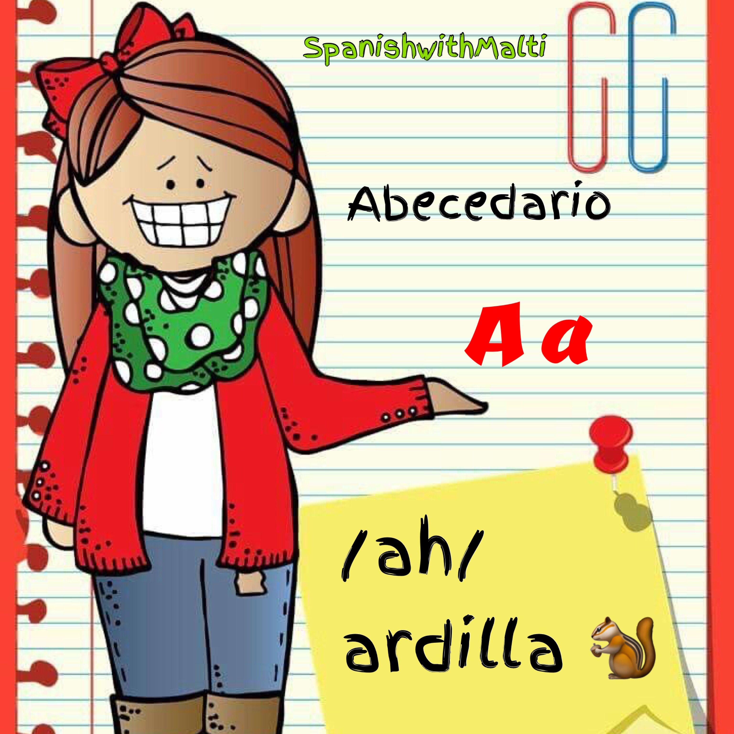A /ay/ ardilla Spanish language learning, Spanish