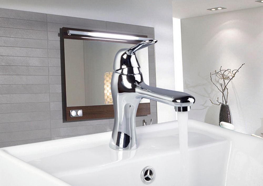e_pak Counter Basin 92361/2 Chrome Torneira  Brass Mixer Single Handle Bathroom Torneiras Banheiro Sink Tap Basin Faucet #Affiliate