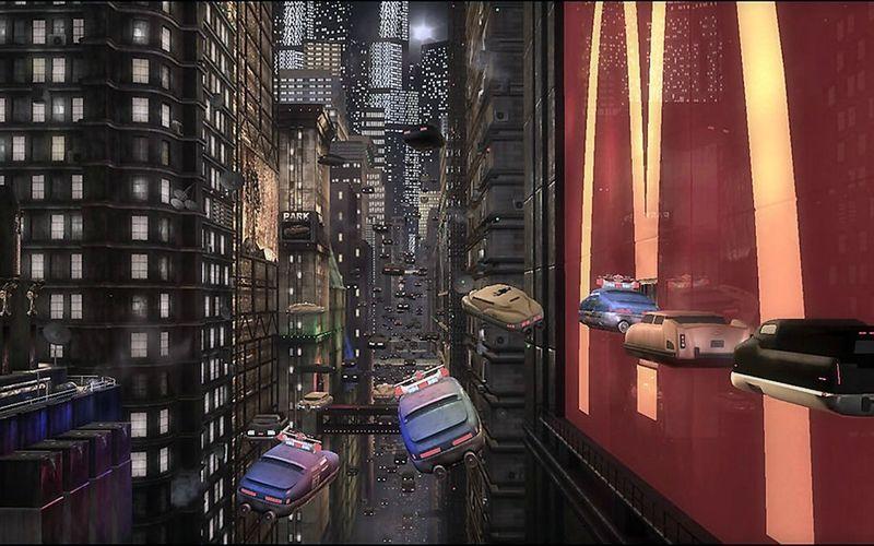 La Representation De La Ville Au Cinema Le Cinquieme Element Series Anime Cinema