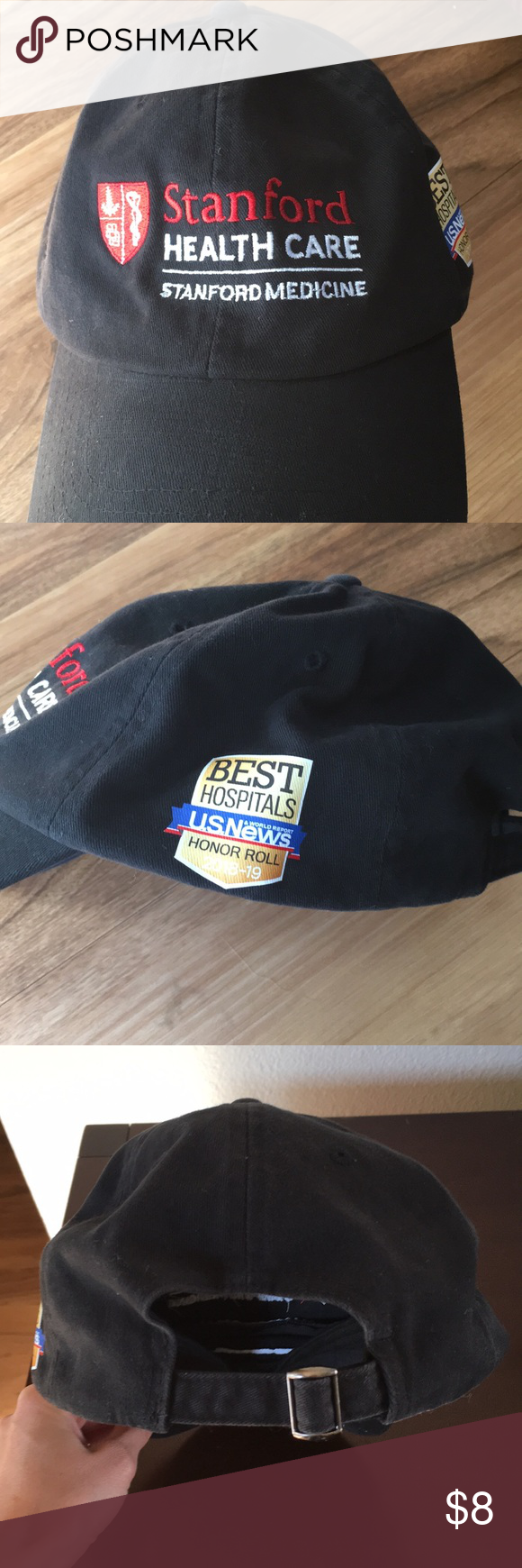 Stanford Healthcare Best Hospital ballcap New without tag