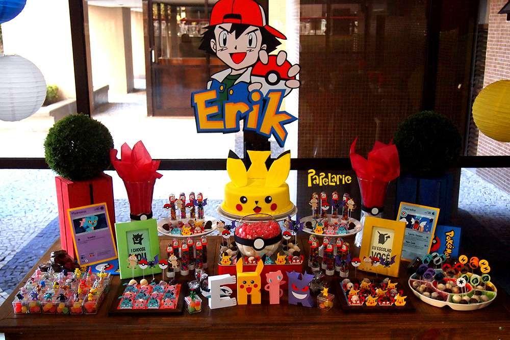 Festa infantil menino pokemon aniversrio do pokemon pinterest festa infantil menino pokemon altavistaventures Gallery