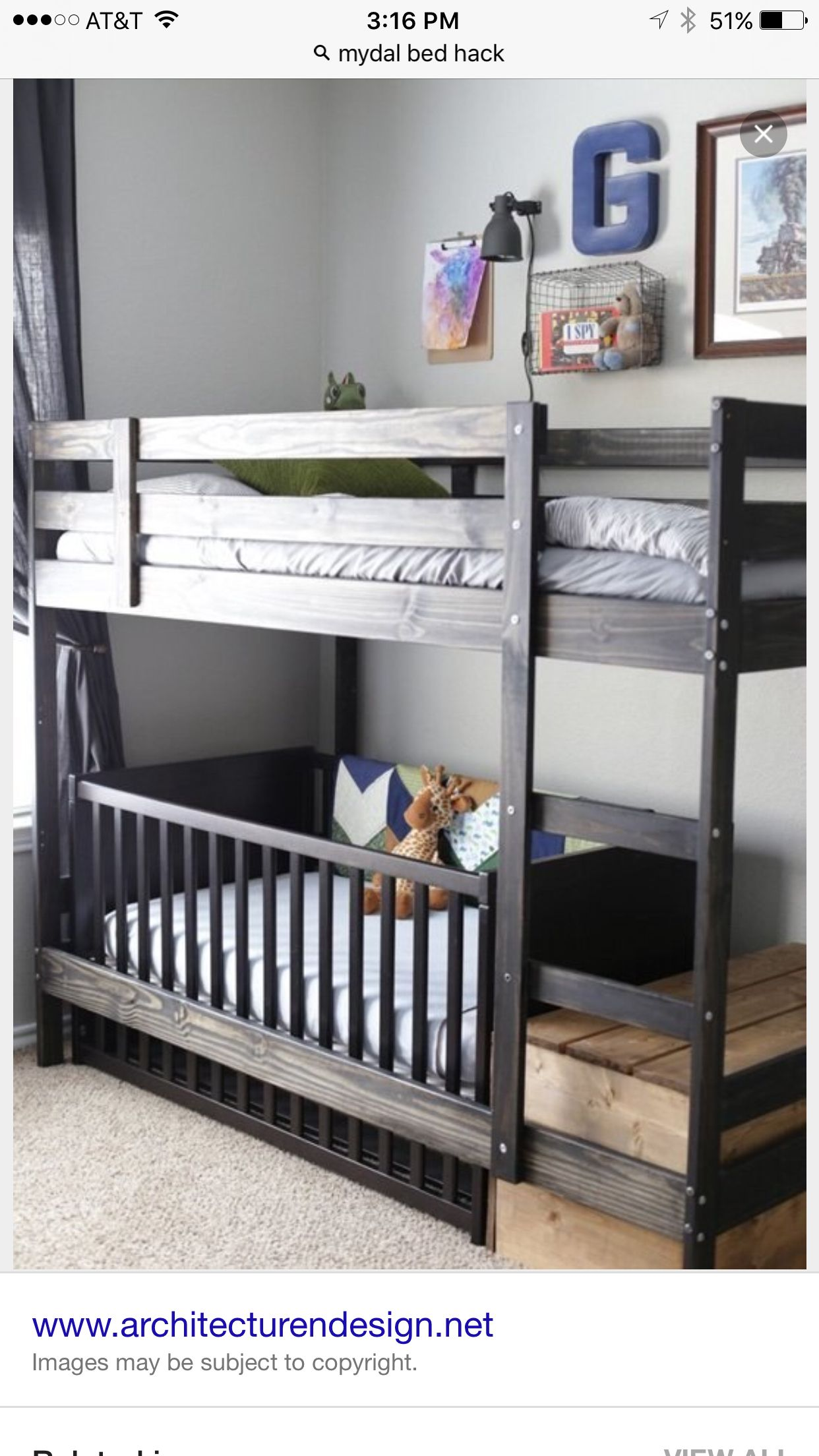 ikea bunks color and wall color … Kids room, Kid beds