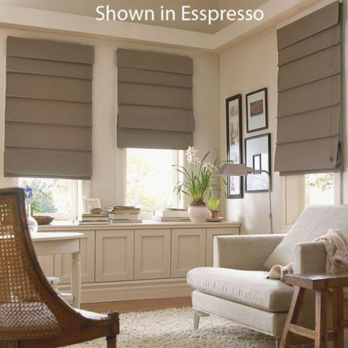 Custom Fabric Roman Shades Blinds Free Shipping