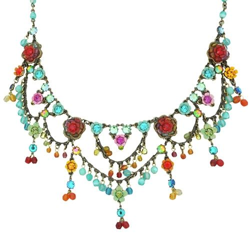 the garden blossom necklace by israeli jewelry designer orly