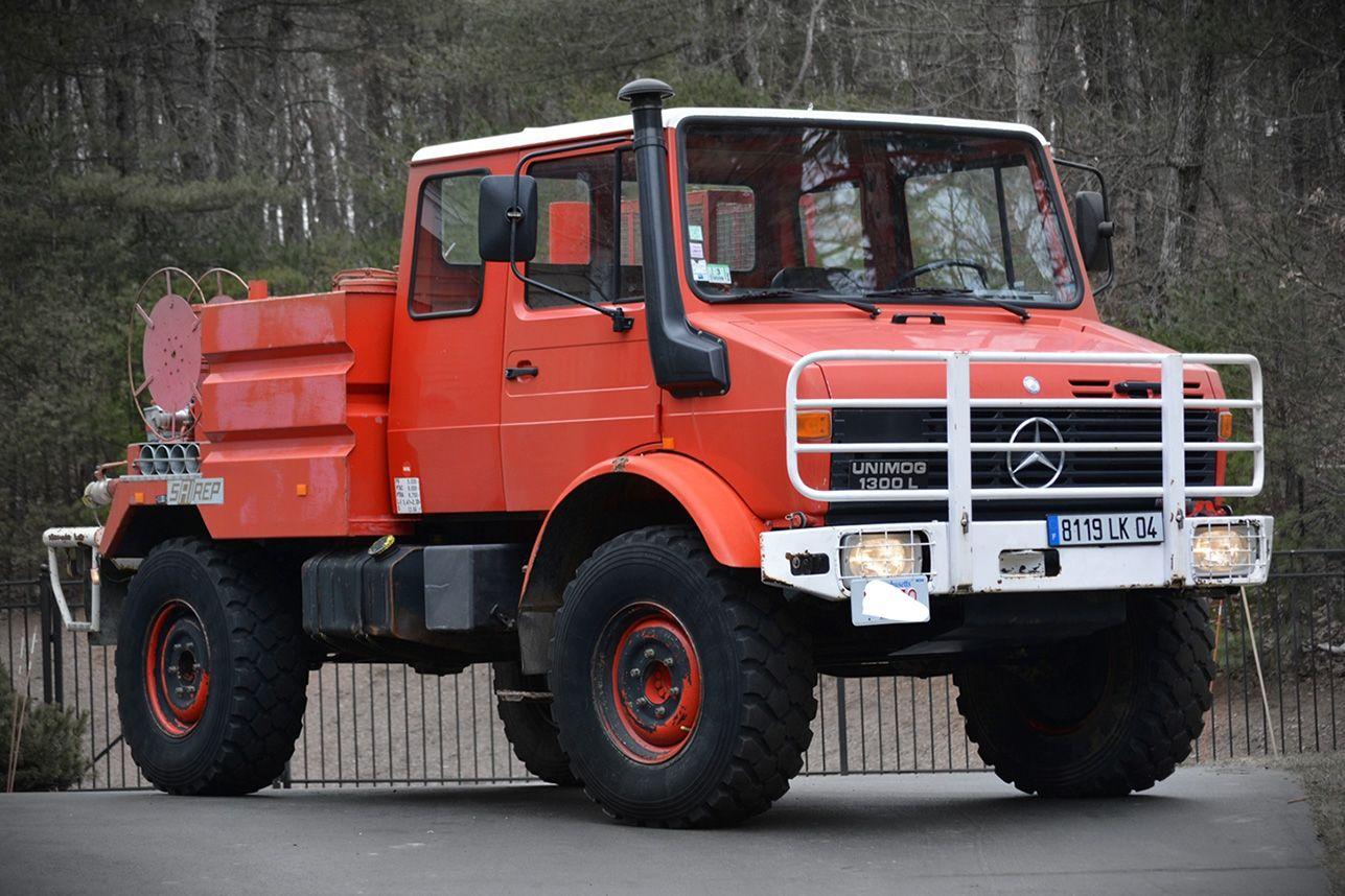 1987 MERCEDES-BENZ UNIMOG DOKA | Mercedes benz unimog ...
