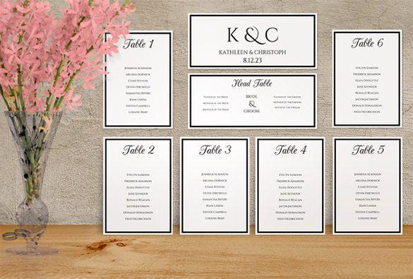 Wedding Seating Chart Template Wedding seating, Wedding and Guest list - sample wedding guest list