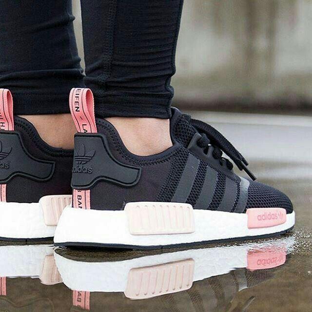 black adidas shoes womens nmd