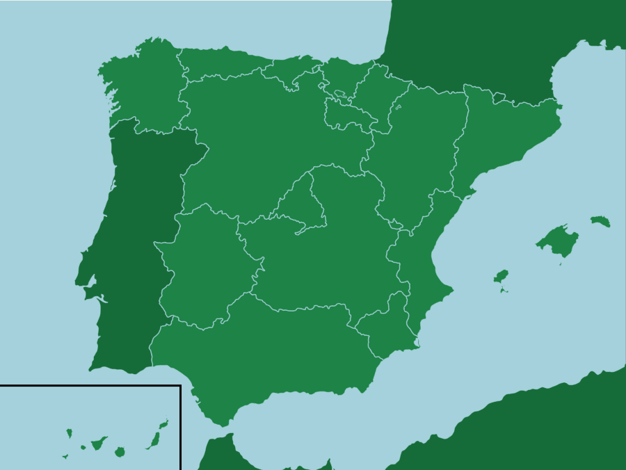 Map Of Spain Quiz.Spain Autonomous Communities Seterra Is A Free Map Quiz Game That