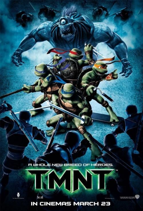 Retro Review Teenage Mutant Ninja Turtles 2007 Ninja Turtles Movie Teenage Mutant Ninja Turtles Movie Tmnt