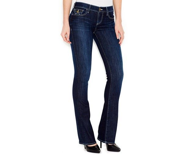 True Religion Becca Bootcut Jeans, Navy Wash