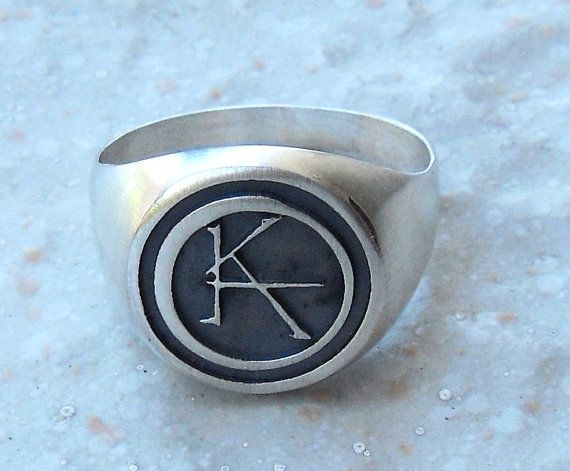 Ka Symbol The Dark Tower Ring Sterling Silver 925 New Condition If