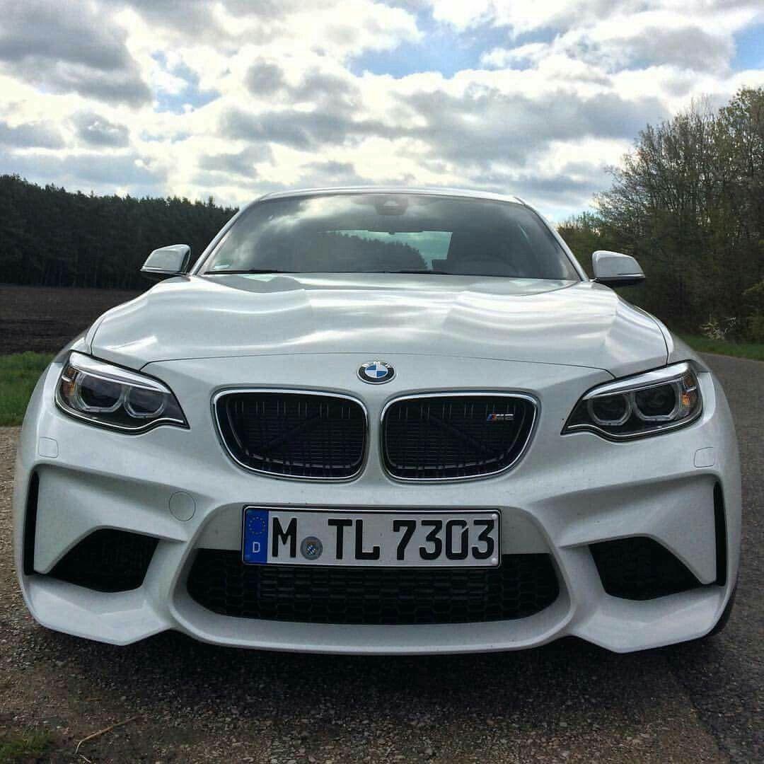 BMW F87 M2 white
