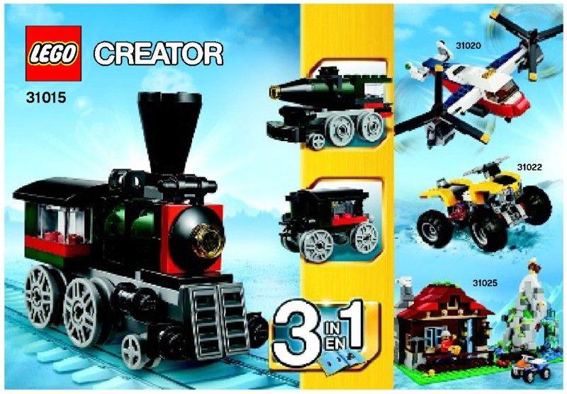 Lego Emerald Express Instructions 31015 Creator Lego Building Instructions Lego Creator Sets Lego