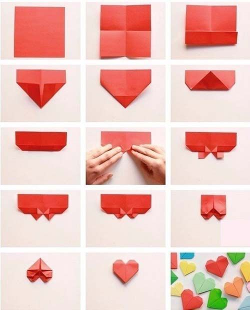 Pin de verena altamirano en crafting ideas pinterest - Manualidades corazones de papel ...