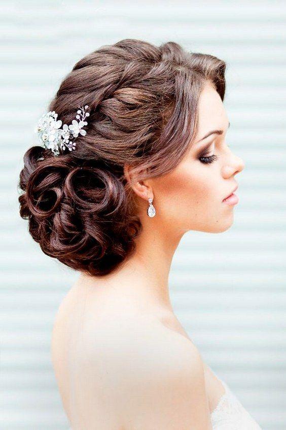 wedding updos hairstyles via elstile / http://www.himisspuff.com/beautiful-wedding-updo-hairstyles/16/