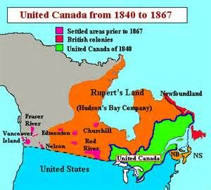 Map Of Canada During Confederation.Pre Confederation Canada Yahoo Image Search Results Canada