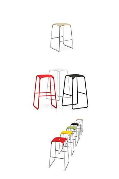 Bobo Barstool । Stools | Aspect Furniture.