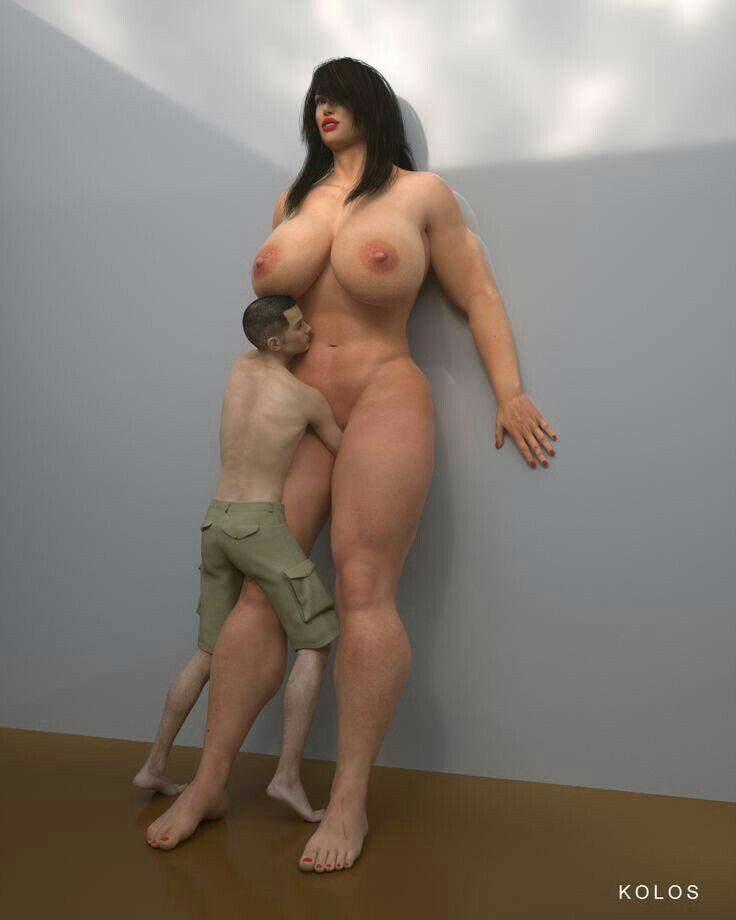 Sexy tall amazon girls boobs — photo 6