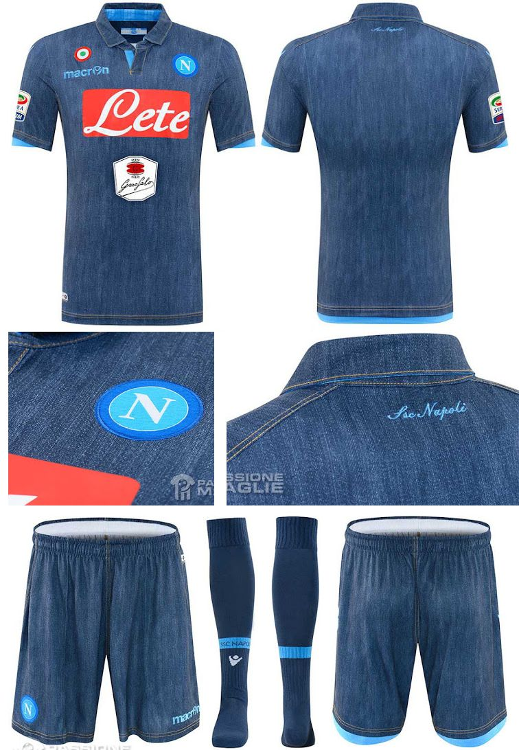 57f07e347 Napoli denim away kit 2014