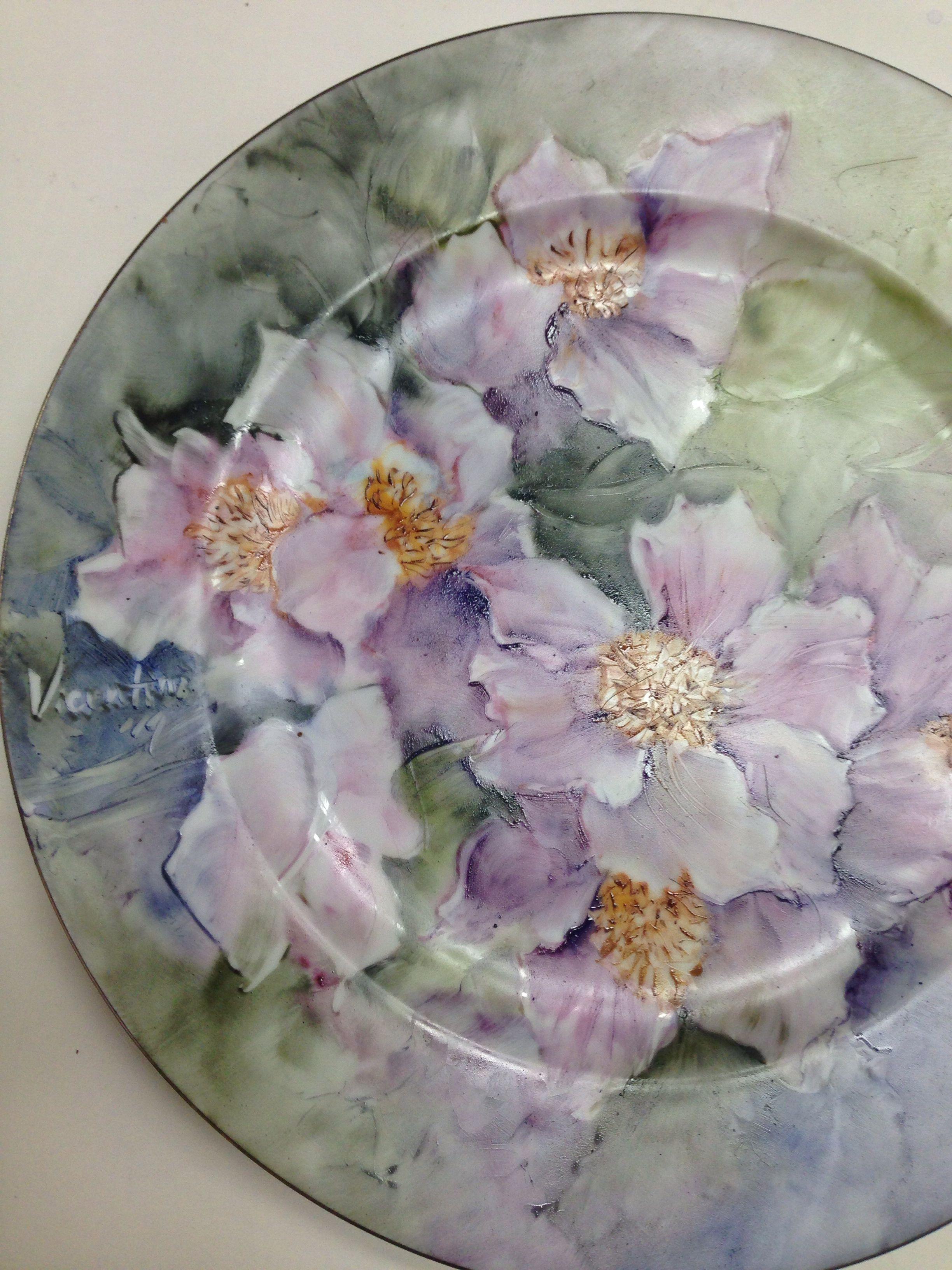 Impressionist Tecnique On Porcelain Elisabetta Vicentini