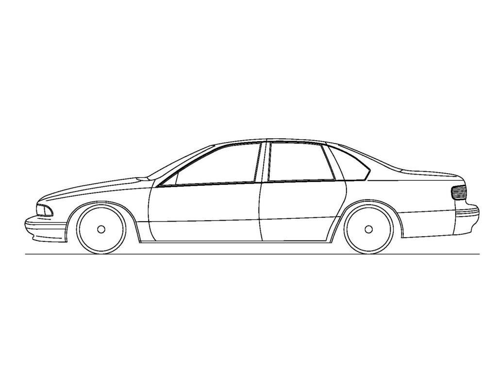 b body line art page 2 chevy impala ss forum cars pinterest