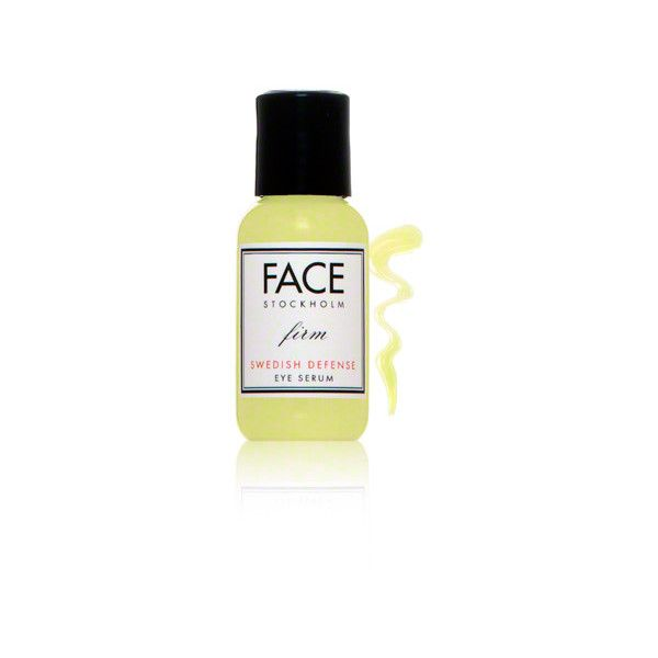 Face Stockholm Face Stockholm Swedish Defense Firm Eye Serum (7020 RSD) ❤ liked on Polyvore featuring beauty products, skincare, eye care, face stockholm, anti aging skincare, anti aging skin care and antiaging skin care