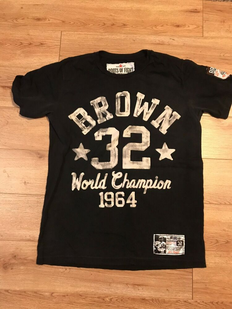 finest selection 951b6 2fd16 Roots Of Fight Jim Brown T-shirt Mens Medium #fashion ...